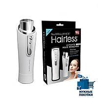 Эпилятор для лица NuBrilliance Hairless   триммер женский