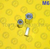 Гайка соединительная (муфта) DIN 6334 М6