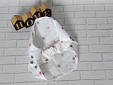 Хлопковая косынка размер 44 - 46 см, фото 2