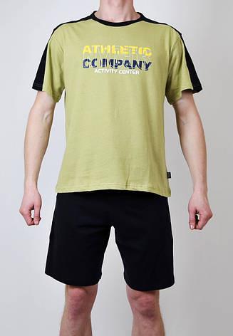 Мужская пижама  Natural Club 044  L Зеленый , фото 2