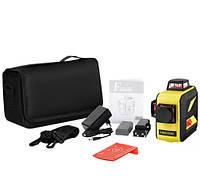 Лазерный уровень/лазерный нивелир 3D Firecore F93T-XR с сумкой