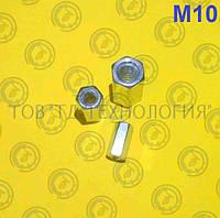 Гайка соединительная (муфта) DIN 6334 М10, фото 1