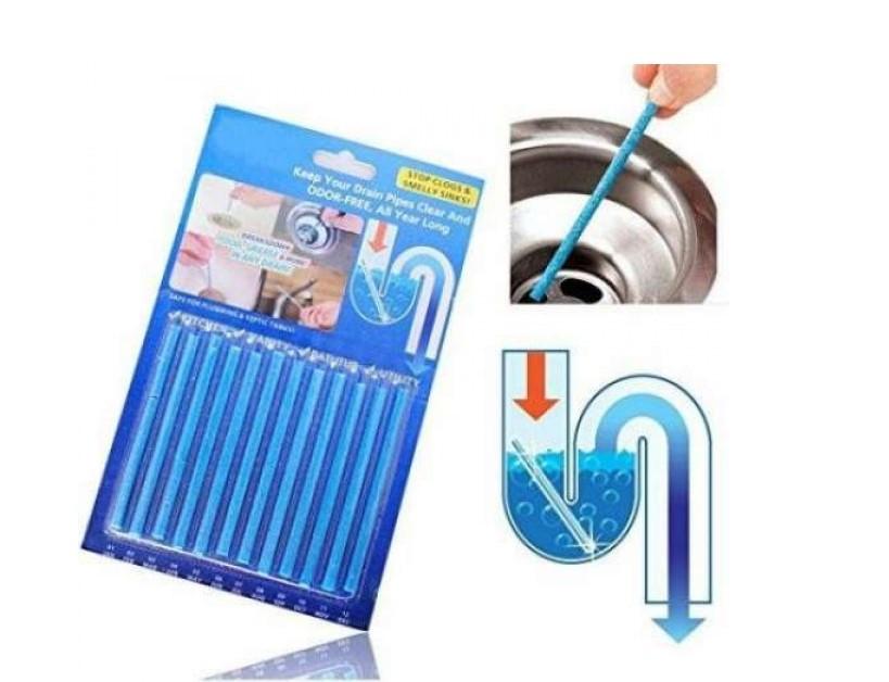 Палочки от засора Sani Sticks Сани Стикс (12 штук в упаковке), цена 69 грн за упаковку