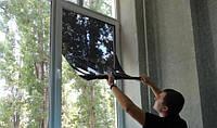 Солнцеотражающая пленка на окна (размер 0,96х5,5 метров) с затемнением до 85%