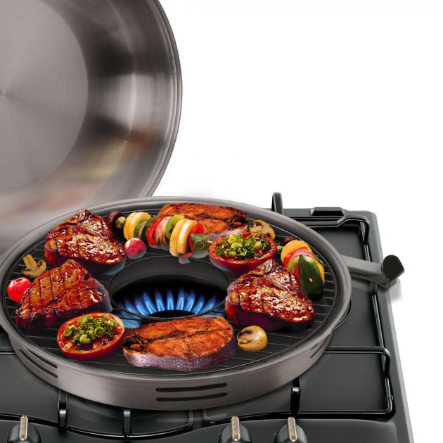 Сковорода гриль-газ деко A-Plus 32RG