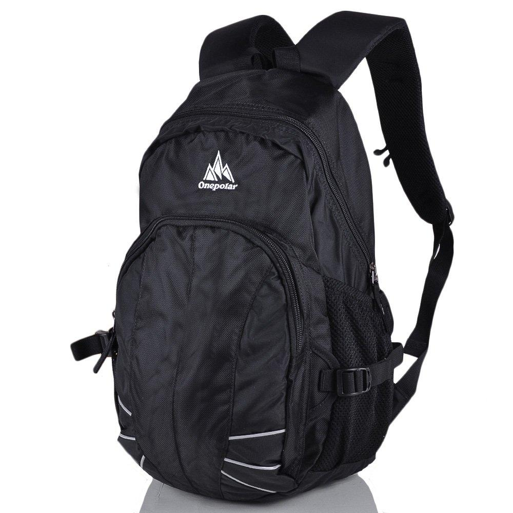 Мужской рюкзак ONEPOLAR (ВАНПОЛАР) W1570-black