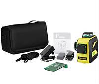 Лазерный уровень/лазерный нивелир 3D Firecore F93T-XG с сумкой