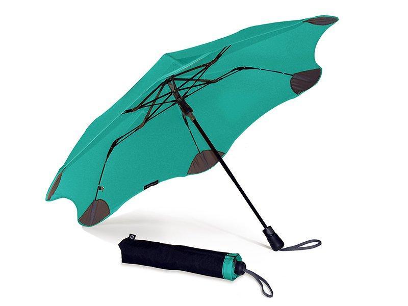 Складной зонт Blunt Противоштормовой зонт женский полуавтомат BLUNT (БЛАНТ) Bl-xs-mint