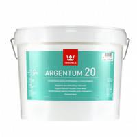 Краска Tikkurila Argentum 20 антимикробная полуматовая база А 9 л