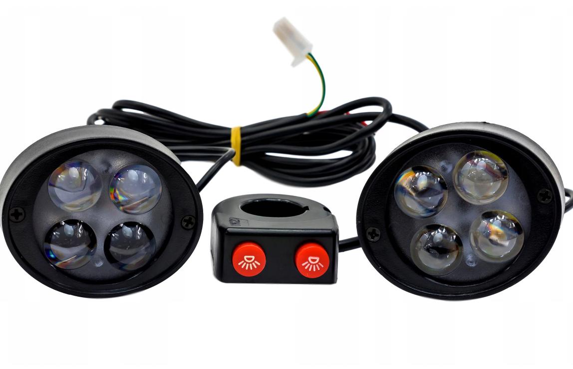 Мини-галогены + выключатель (светодиодная вспышка - 20 Вт)
