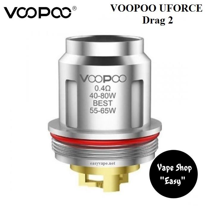 Испаритель VooPoo Uforce U2  0,4 Ом Drag 2, UFORCE T1, T2 ОРИГИНАЛ.