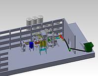Установка для производства сухих смесей, фото 1