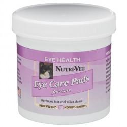Nutri-Vet ОЧИСТКА ПЯТЕН (Tear Stain Removal cat) влажные салфетки для котов во круг глаз