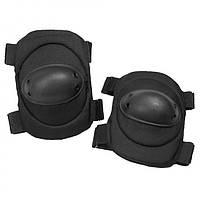 Тактические налокотники MilTec Black 16232002