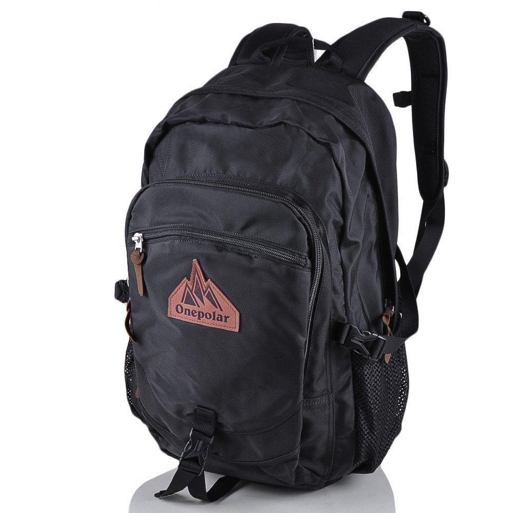 Мужской рюкзак ONEPOLAR (ВАНПОЛАР) W1768-black