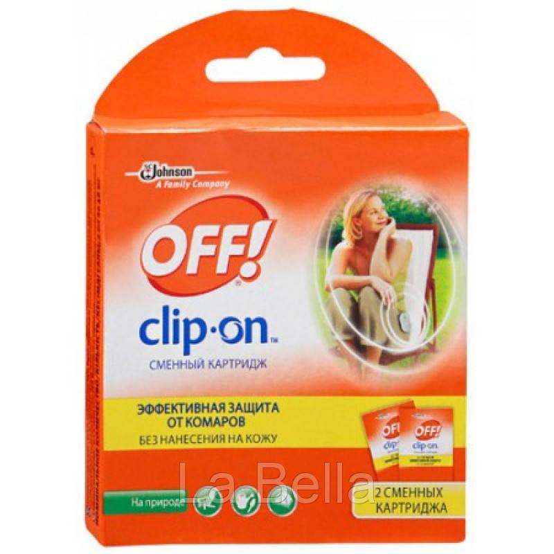 Средство от комаров Off Clip-on Сменный картридж