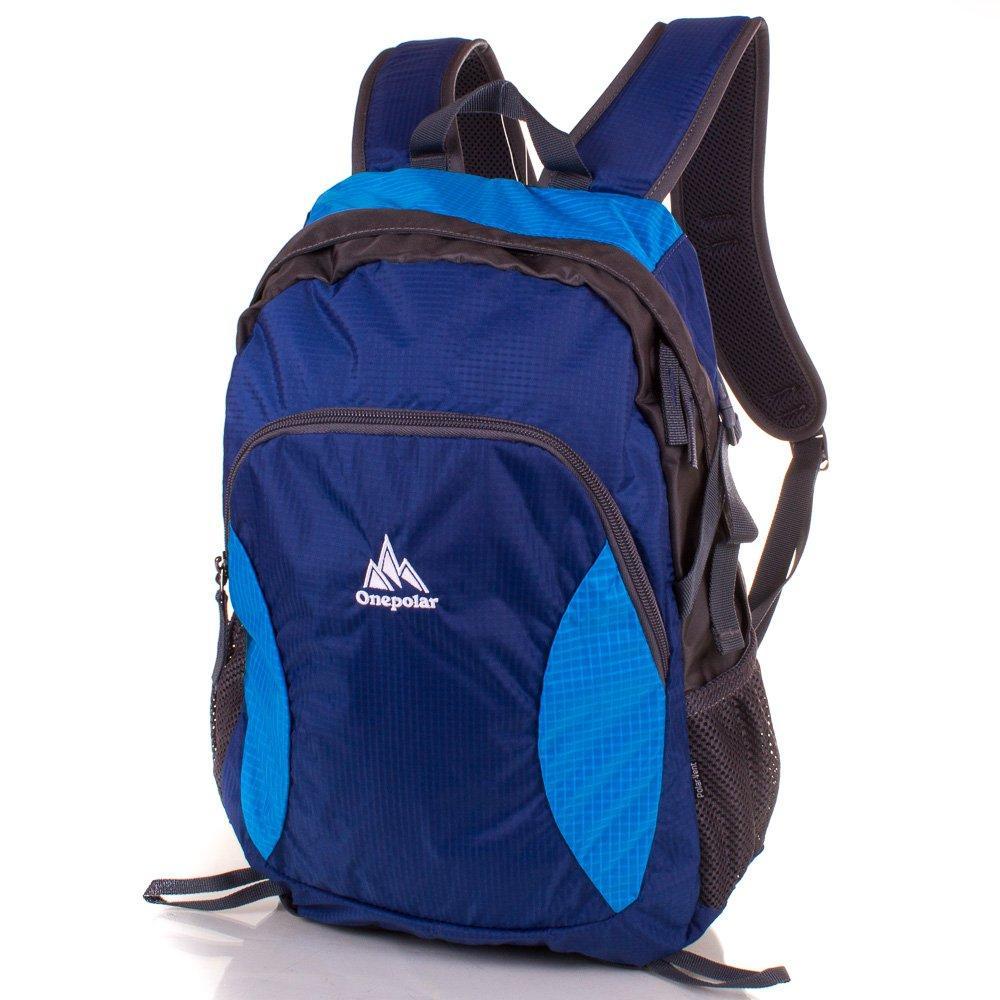 Рюкзак спортивный Onepolar (ВАНПОЛАР) W1798-blue
