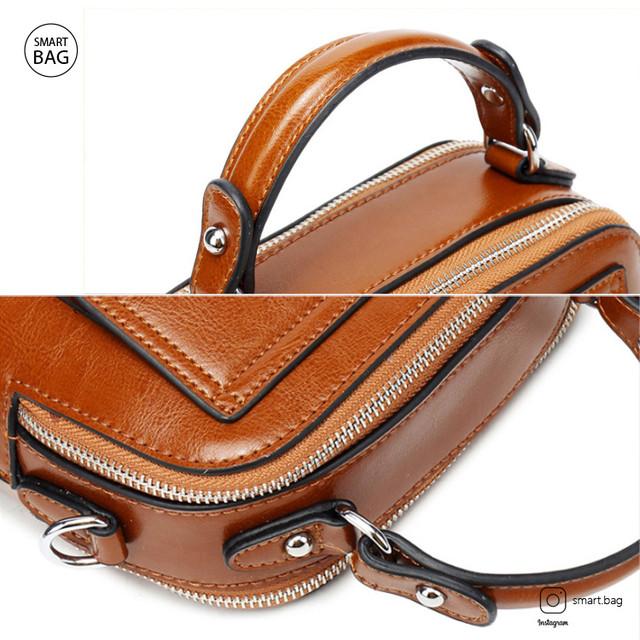 Женская кожаная сумка через плечо