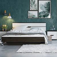 Кровать двухспальная 1.6 Мария Світ Меблів