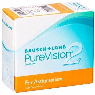 Линзы ежемесячной замены PureVision 2 For Astigmatism