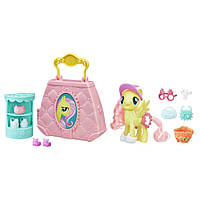 Hasbro My Little Pony Fluttershy Флаттершай и переносная сумочка-бутик, фото 2