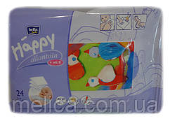 Влажные салфетки для детей Bella Baby Happy allantoin + vit.E - 24шт.