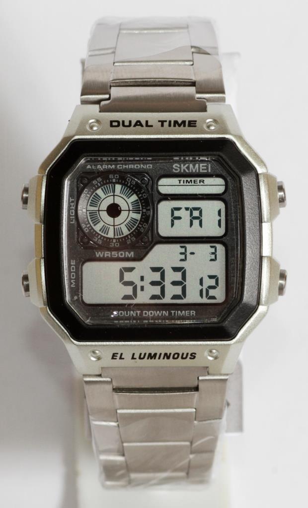 Часы наручные Skmei 1335 (Silver)