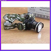 Налобный фонарик Bailong Police BL-6807