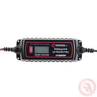 Зарядное устройство 6/12В, 0.8/3.8А, 230В, макс.емкость акк.1.2-120 а/ч INTERTOOL AT-3023