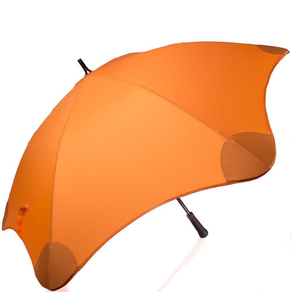 Зонт-трость Blunt Противоштормовой зонт-трость женский механический с большим куполом BLUNT (БЛАНТ) Bl-classic-orange