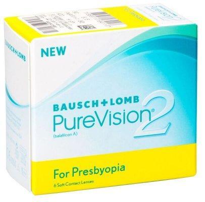 Линзы ежемесячной замены PureVision 2 Multi-Focal