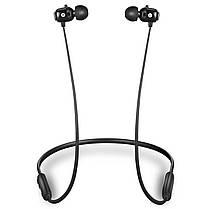 ★Bluetooth гарнитура Moloke S20 Black вкладыши беспроводная для музыки и разговоров для смартфона и планшета, фото 3