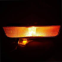 LED лампа в поворот  красного фонаря PY21W(1156)(BAU15S) Osram 80W led Янтарный, фото 3