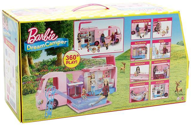 Машина для путешествий Barbie