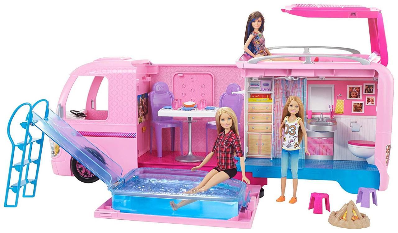 Набор Барби Кемпер мечты Трейлер для путешествий Barbie Dream Camper