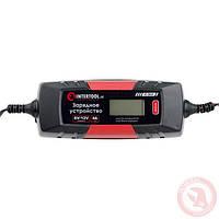 Зарядное устройство 6/12В, 1/2/3/4А, 230В, макс. емкость аккумулятора 1.2-120 а/ч INTERTOOL AT-3024