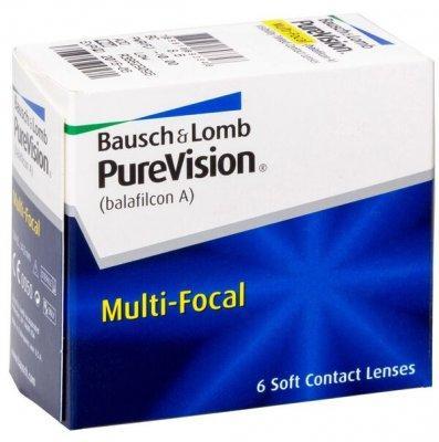 Линзы ежемесячной замены PureVision Multifocal
