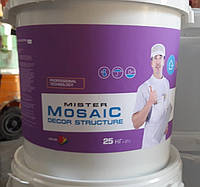 Мозаїчна штукатурка Mr. Mosaic  25 кг.
