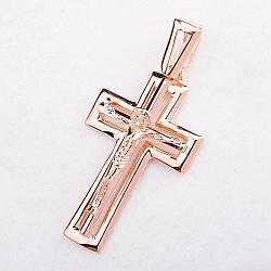 Золотой крестик п01657