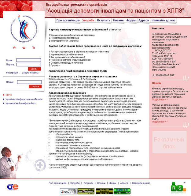 """Сайт гражданской организации """"АПИиПХЛПЗ"""" 61"""