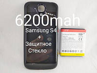 Усиленный аккумулятор Samsung S4, i9500, i9505, фото 1