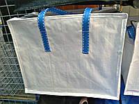 Сумка хозяйственная белая  40 х 35 х 20 см