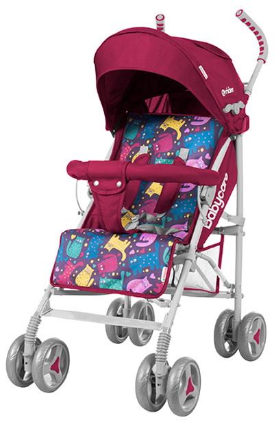 Коляска-трость Rider, «Babycare» (BT-SB-0002/1), цвет Crimson (малиновый)