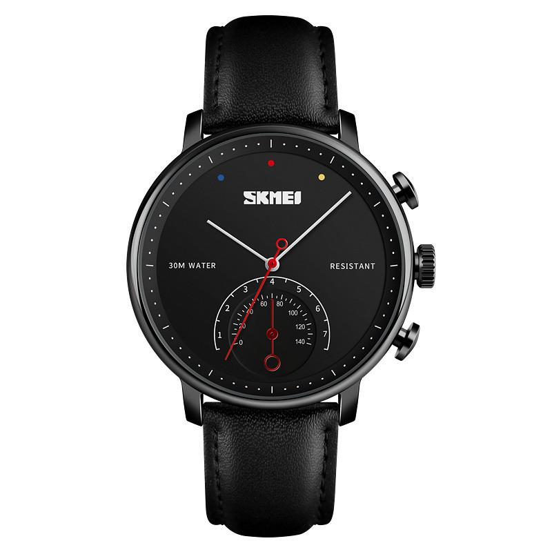 Skmei 1399 черные мужские классические часы