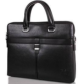 """Чоловіча сумка з якісного шкірозамінника з кишенею для ноутбука 13,3"""" BONIS (БОНІС), колекція JIN DIAO"""