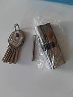 """Циліндр (серцевина) дверного замка """"ключ-ключ"""" Cometa 90 мм (45*45)  5 лазерних ключів"""