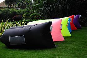 Ламзак диван-шезлонг для отдыха, надувной, желтый Oxford PU 240d, фото 2
