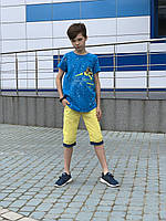 Яркие футболки для мальчиков (104-128)