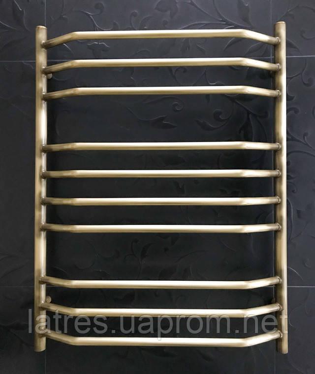 Бронзовый полотенцесушитель 500-800 Трапеция 10