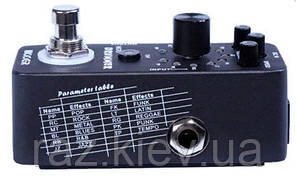 MOOER MICRO DRUMMER Компактна драм машина в форматі гітарної педалі, фото 2